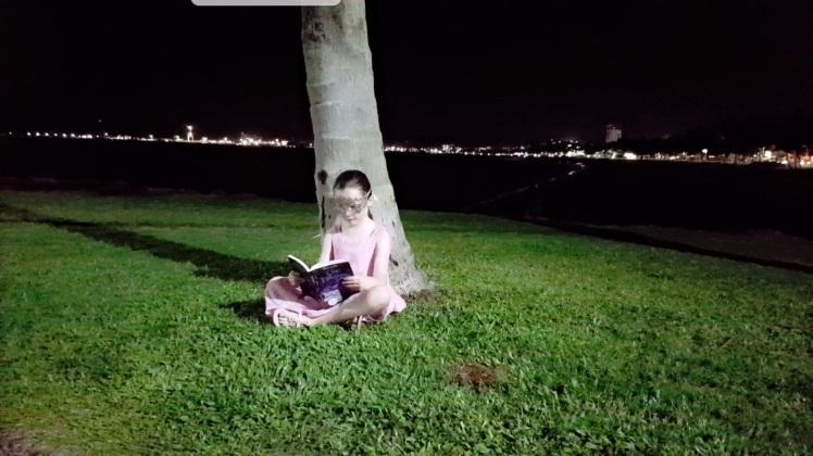 Rebeka reading
