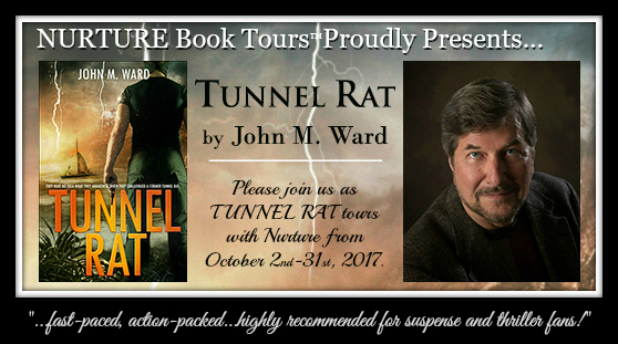 Tunnel Rat tour banner with quote