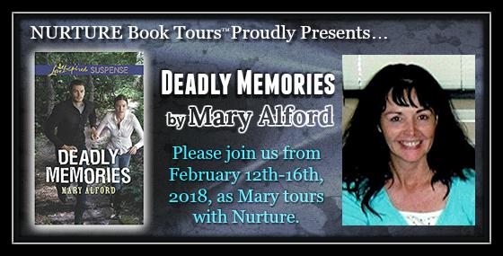 Deadly Memories Nurture Book Tour banner